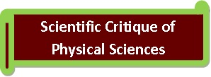 Scientific Critique of Physical Sciences